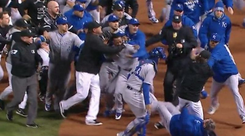 Admirable Video Royals White Sox Get Feisty In Bench Clearing Brawl Onthecornerstone Fun Painted Chair Ideas Images Onthecornerstoneorg