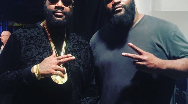 Rick Ross The Rock Mark Henry Make Miami Connection At Wwe Raw